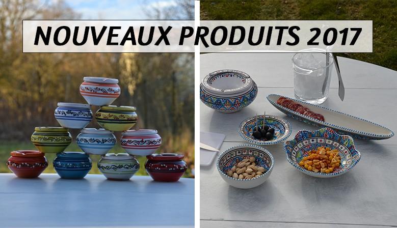 Nouveaux produits YODECO : cendriers et collection Jileni Royal