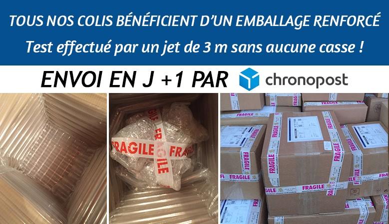 Emballage renforcé et livraison en 24 H pour toute la vaisselle orientale, service à couscous, tajines, plats ...