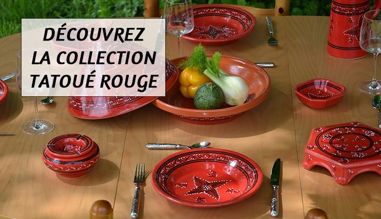 Découvrez la collection Tatoué rouge