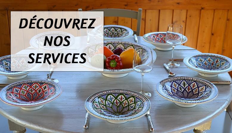 Découvrez nos services