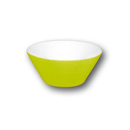 Bol conique vert - D 9 cm - Napoli