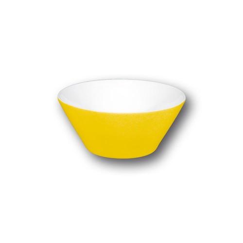 Bol conique jaune - D 9 cm - Napoli