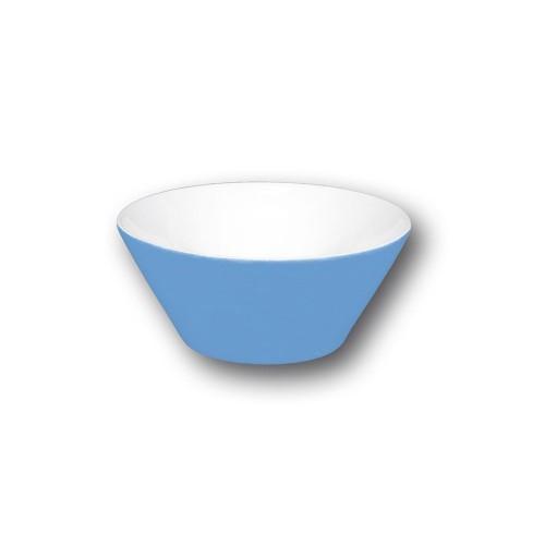 Bol conique bleu - D 9 cm - Napoli