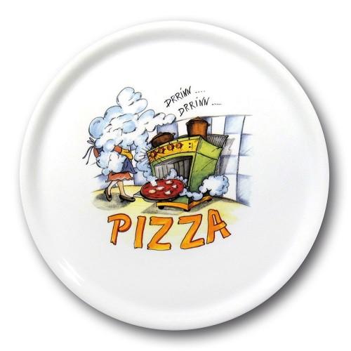 Assiette à pizza Florence - D 31 cm - Napoli