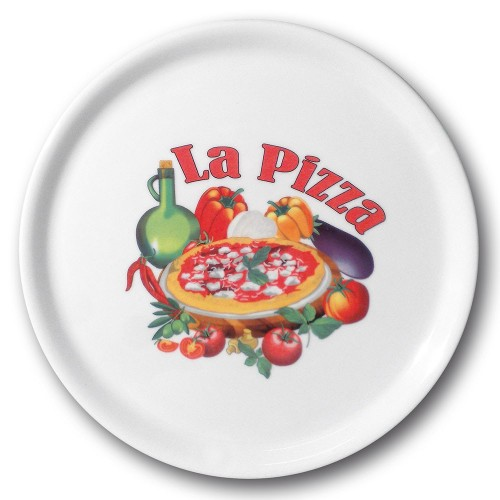 Lot de 6 assiettes à pizza Vérone - D 31 cm - Napoli