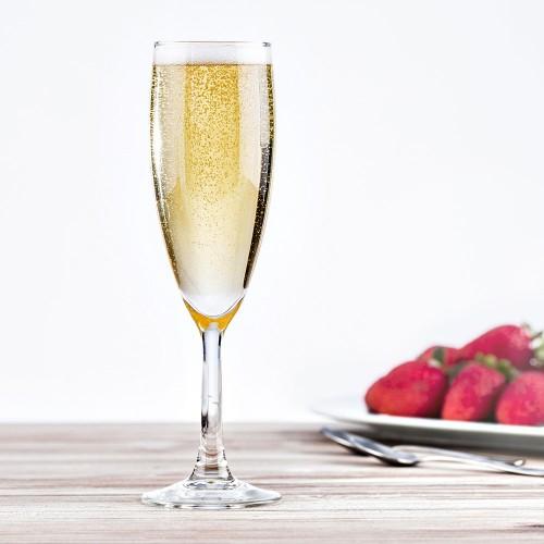 Lot de 6 flûtes à champagne Merlot 15 cL