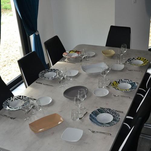 Lot de 6 assiettes à risotto Italia - D 27,5 cm - Napoli