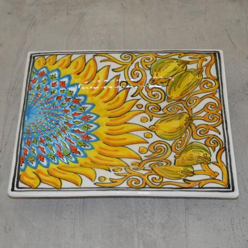 Plat décoratif Soleil - 31 cm
