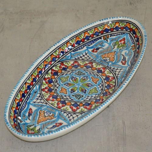 Plat ovale Thyna - L 40 cm