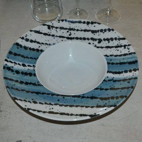 Lot de 6 assiettes à risotto Antipasti - D 27,5 cm - Napoli