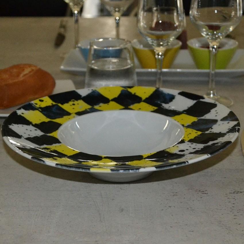 Lot de 6 assiettes à risotto Squisito - D 27,5 cm - Napolioli
