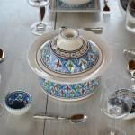 Cocotte Querouana Bakir turquoise - D 20 cm