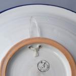 Plat rond Saïda - Pièce unique - Diam 37 cm