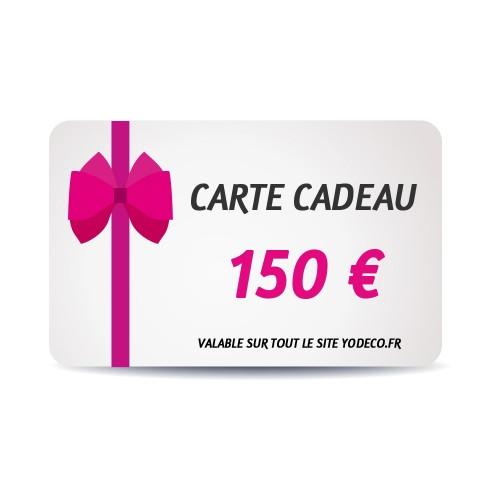Carte Cadeau de 150 €