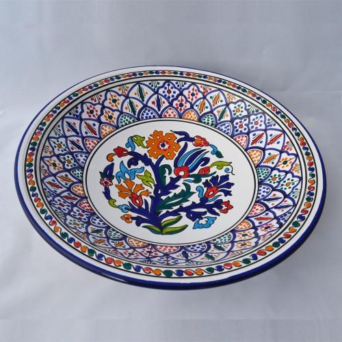 Plat Dar Azdine - Pièce unique - D 41 cm