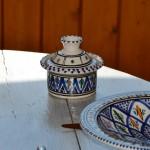 Cocotte Querouana Bakir bleu - D 12 cm