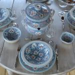 Bol Marocain turquoise - D 16 cm