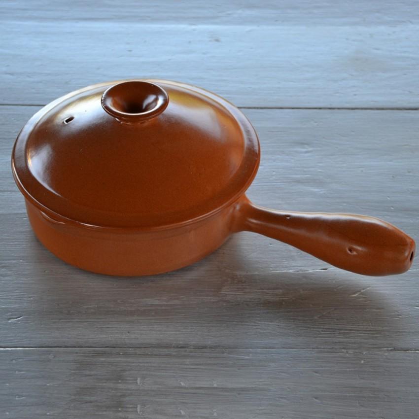 Poêlon en terre cuite - D 25 cm