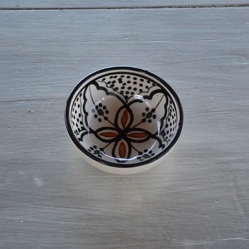 Bol Marocain noir - D 10 cm
