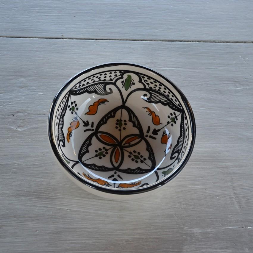 Bol Marocain noir - D 18 cm
