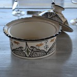Cocotte Querouana Marocain noir - D 20 cm