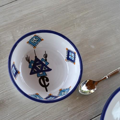 Bol Sahel bleu - D 10 cm