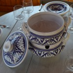 Couscoussier Nejma bleu - Grand modèle