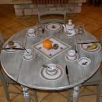 Assiette à entrée ou dessert Sahel beige - D 20 cm