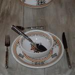Service à soupe Sahel beige - 6 pers