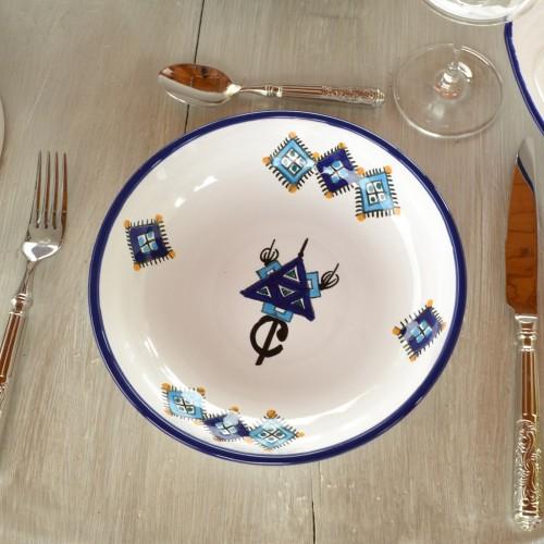 Jatte Sahel bleu - D 20 cm