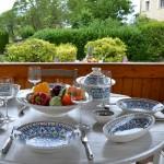 Lot de 6 assiettes creuses Bakir turquoise - D 24 cm