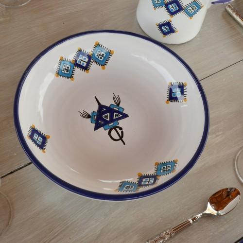 Jatte Sahel bleu - D 31 cm