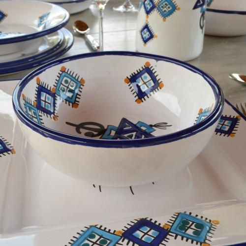 Bol Sahel bleu - D 18 cm