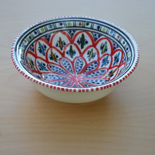 Saladier Bakir rouge - D 25 cm