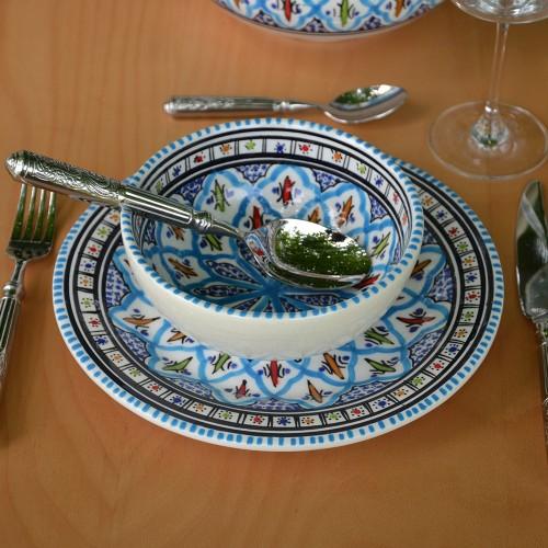 Bol Jileni turquoise - D 16 cm