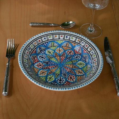 Assiette creuse JIleni Royal - D 24 cm