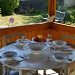 Lot de 6 assiettes Tebsi Bakir turquoise - D 23 cm