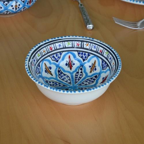 Coupelle Jileni turquoise - D 15 cm