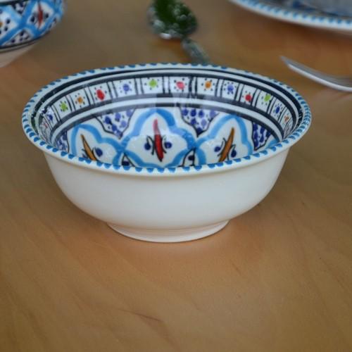 Saladier Jileni turquoise - D 25 cm
