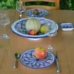 Plat à fruit Médina Color - D 35 cm