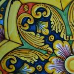 Plat décoratif Yasmine - D 32 cm