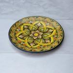 Plat décoratif Midoun - D 32 cm