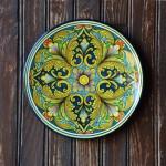 Plat décoratif Korba - D 32 cm