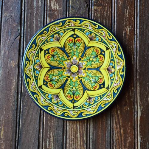 Plat décoratif Crocus - D 32 cm