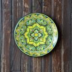Plat décoratif Narcisse - D 32 cm