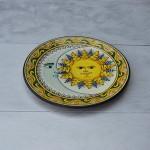 Plat décoratif Soleil - D 32 cm