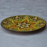 Plat décoratif Jacinthe - D 32 cm