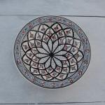 Lot de 6 assiettes Tebsi Bakir gris - D 23 cm