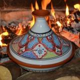 Tajine Marocain rouge - D 31 cm