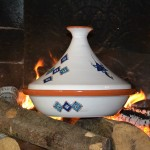 Tajine Sahel bleu - D 30 cm